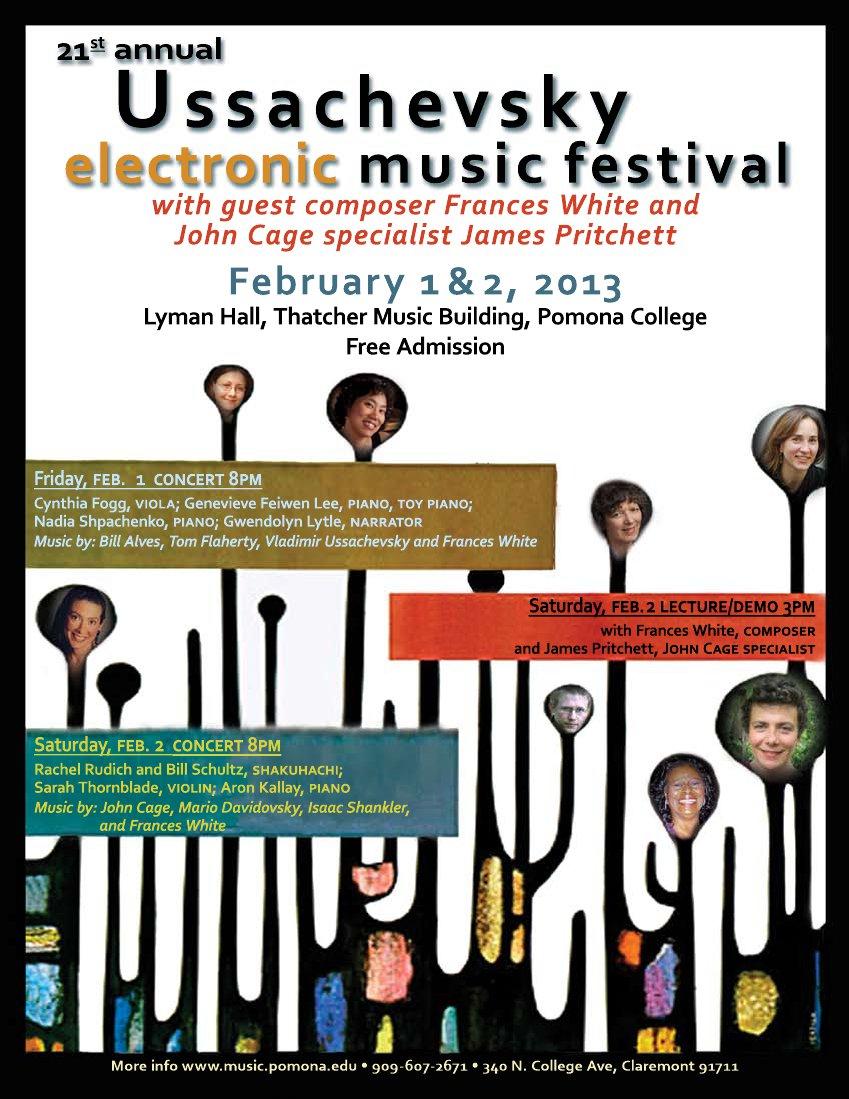 Flyer for the festival