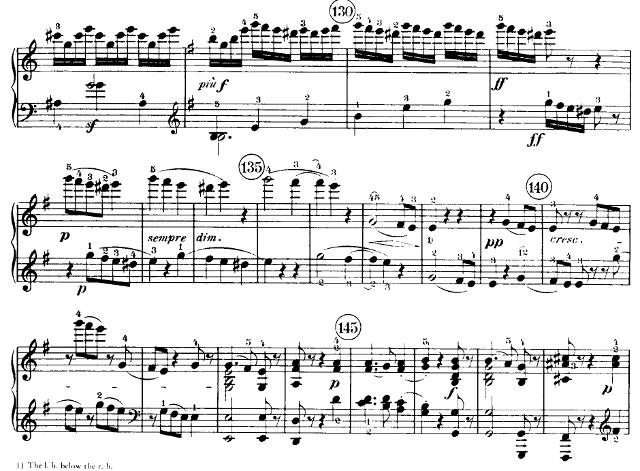 Beethoven Op. 90 example