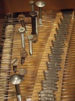 A prepared piano