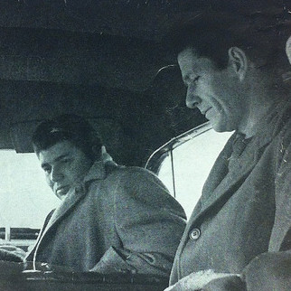 Morton Feldman and John Cage, c. 1950
