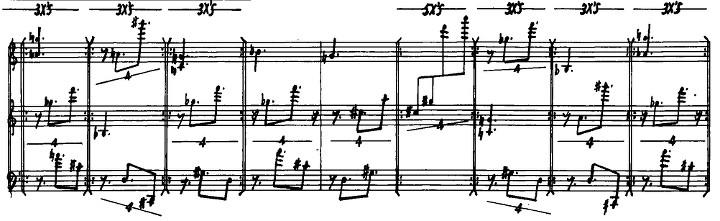 Excerpt of Triadic Memories in manuscript