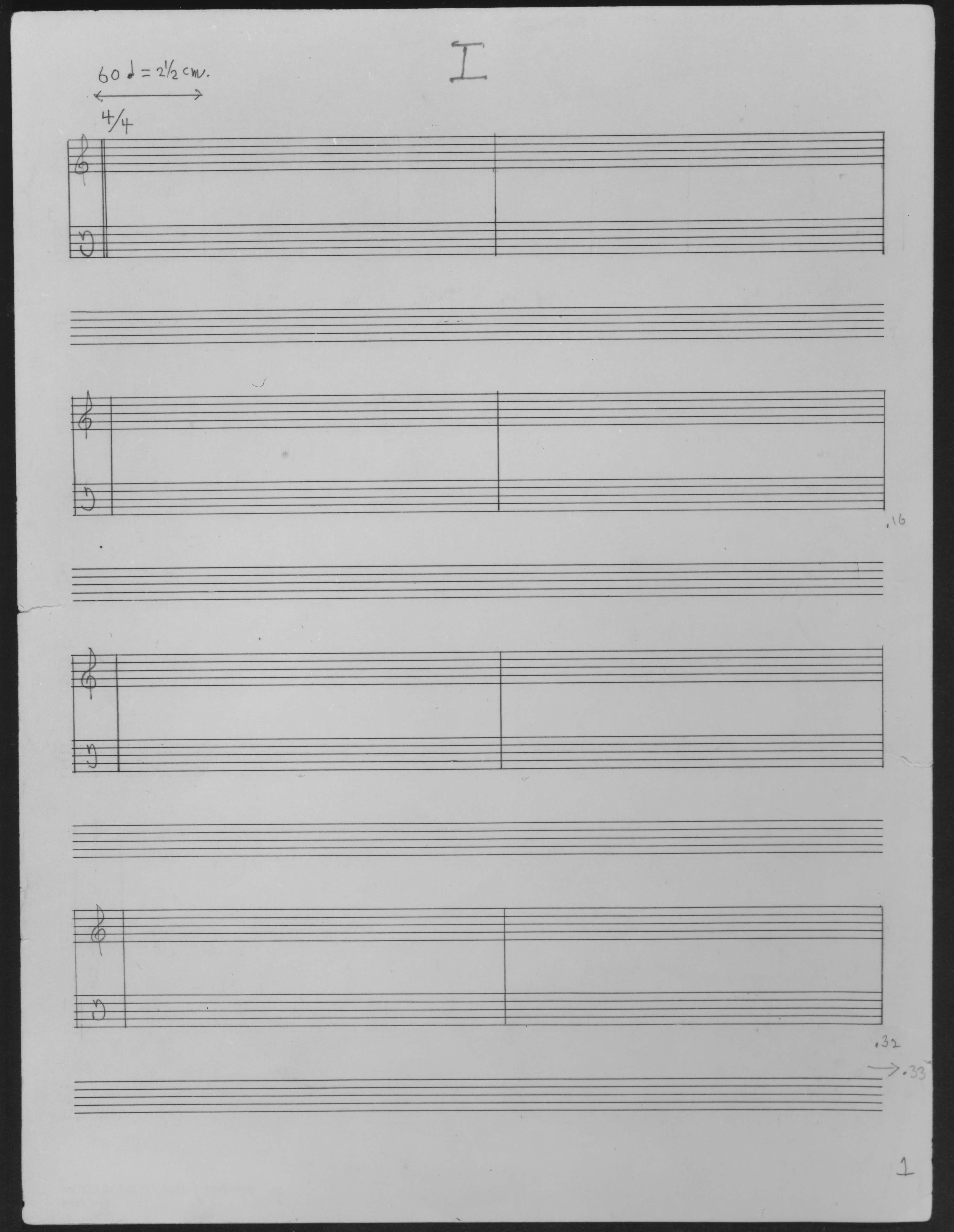 John Cage's art of noise.